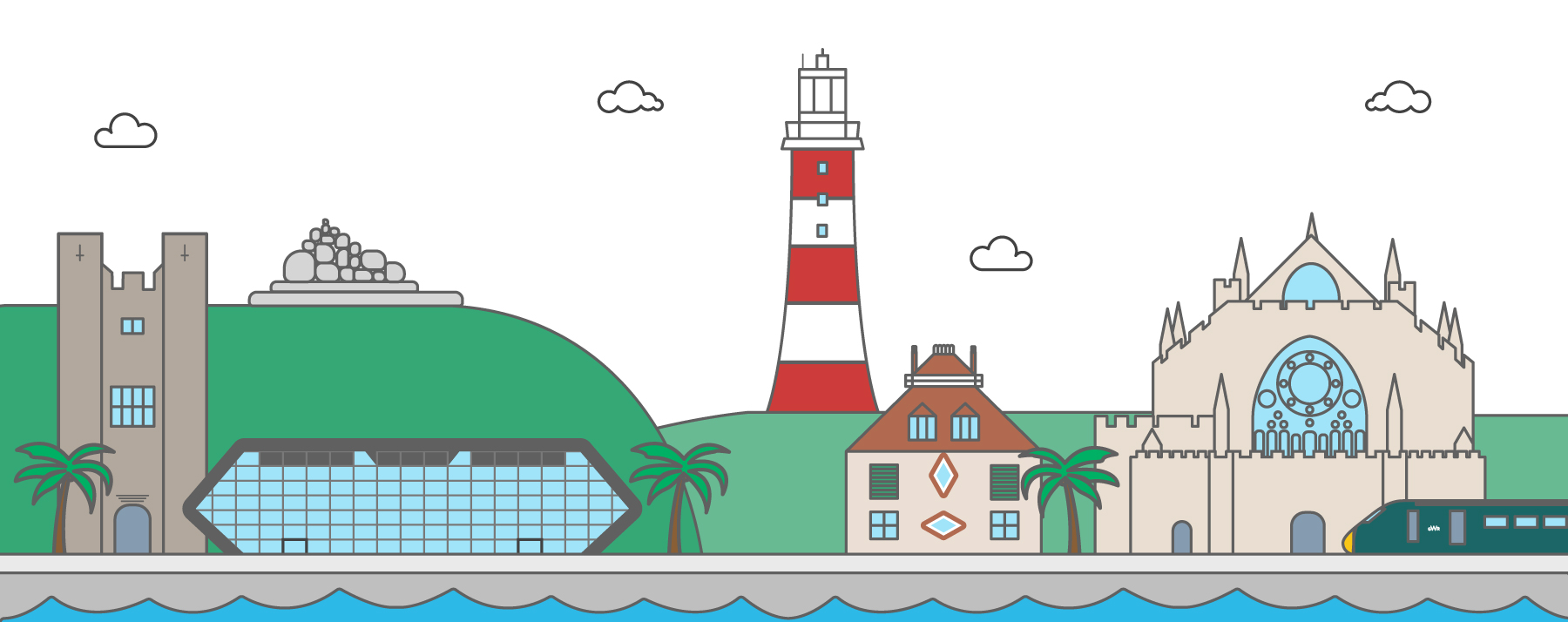 8 landmarks from Devon